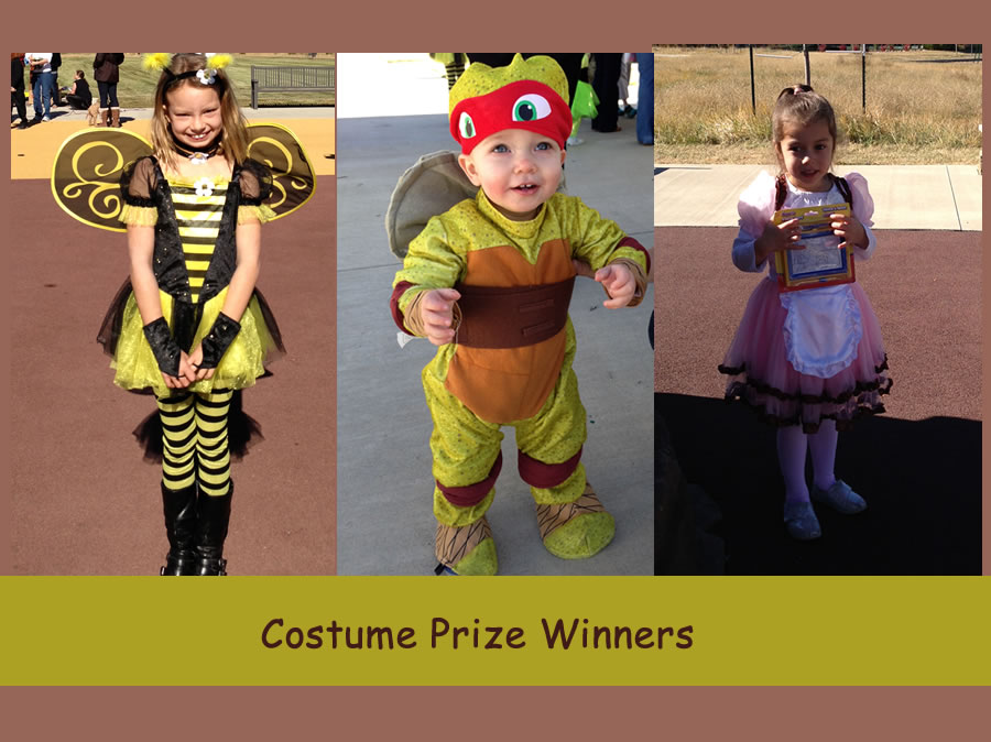 Costume Prize Winners
